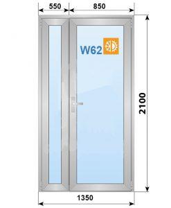 алюминиевые дверь