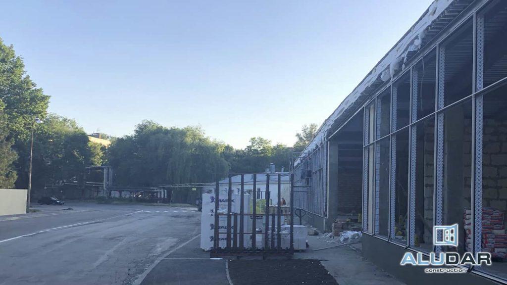 Монтаж алюминиевых дверей, витражей, окон, по ГОСТу